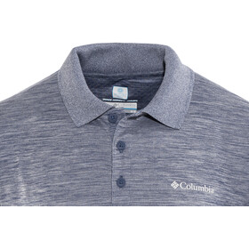 Columbia Zero Rules Polo Shirt Men carbon heather